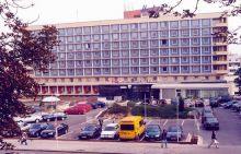 Husova 16 - hotel International, rok 2001. AMB foto, Xb 219.